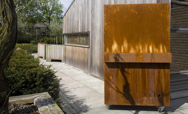 Barbacoa panel de Tulp.