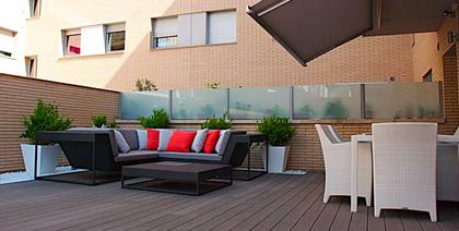 Proyecto de terraza en unos bajos de Sabadell
